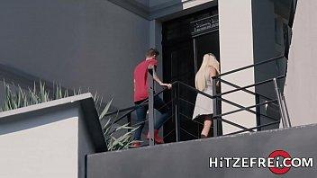 HITZEFREI Thick German blonde Tatjana Young fucks a stranger