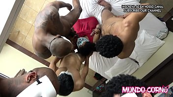 (CUCKOLD) - BLACK YOUNG MARRIED CHEATING ON HER HUSBAND WITH THREE MEN