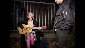 Puke and Pissdrinking - German Punkgirl Spatzi!