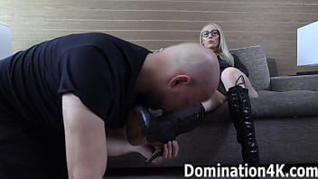 Boot and foot worship with Crystal Clark