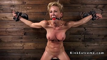 Restrained slave in device toyed