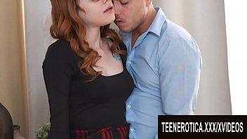 Pierced Pussy Ginger Teen Mary Solaris Gets an Intense Anal Drilling