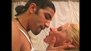 A sexy blonde anal banged by an arabian...