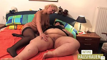 Huge fat girls and her girlfriend