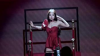 公众号【是小喵啦】韩国女团单人特写性感红热舞