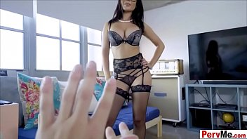 Stepmom is a sloppy but very hot and nasty headmistress