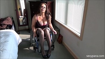 Mature in sexy lingerie videos Wheelchair porn - be my slave - sexy para