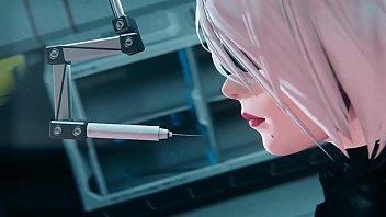 หนังโป้การ์ตูน3D เมื่อหุ่นยนต์มีความต้องการทางเพศ สาวสวยโดนจับทดลองเย็ดหีกับมนุษย์ จับควยเสียบหีซั่มจนรูหีแหก เย็ดกันเสียวมากเพราะควยแข็งเต็มที่