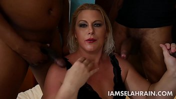 PAWG Selah Rain Takes on 3 Fat Cocks to Tease Her Husband