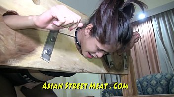 Ass ten anal Sphincter ring gobble mouth bondage asia
