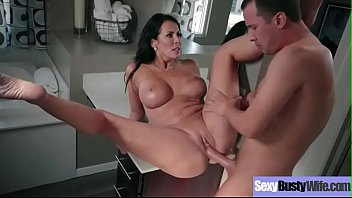 (Reagan Foxx) Sexy Busty Housewife In Hardcore Sex Tape clip-23