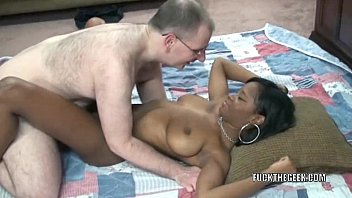 Black hottie Mercy Starr is taking a stiff white cock