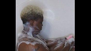 Ebony Bath Time