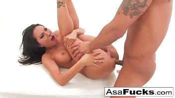 Asa Akira's Anal Fisting and Fucking Creampie