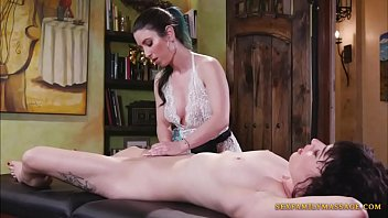 Serena Blair and Olive Glass in Lusty Lesbo Performance