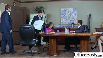 (Priya Price) Girl With Round Big Tits In Hard Style Sex In Office clip-24