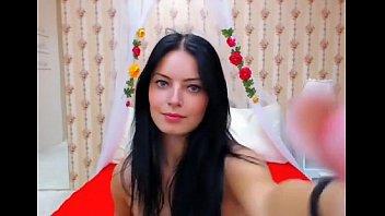 Gorgeous Brunette On Webcam - Vixxxcam.com