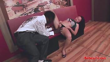 Babesalicious - Asian Milf Babe Barely Take BBC