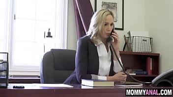 Hot mom ass fucked by son's bully