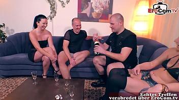 Deutsche amateur swinger nachbarn machen private gruppensex party