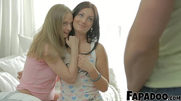 FAPADOO 4K – Ass Fucking The Step Sis While Her Friend Is Watching