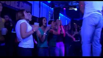 Hard Core Gang Bang In Night Club
