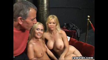 Hot guy sucking cock Perv old man bangs two hot blonde girls