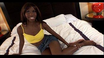Black teen white guy Young ebony 18yo teen slut gets cumshot in ebony facial amateur video