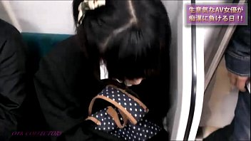 Groping asian train molest 86 - Japanese train real gropers, and molested 01