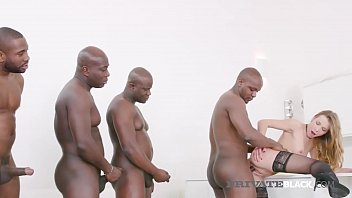 PrivateBlack - Blonde Alexis Crystal Fucks 4 Black Stallions