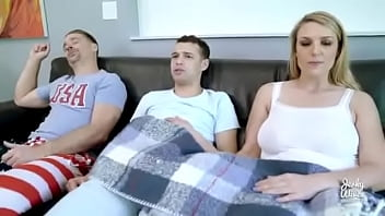 big tits mom forcing son and in front of dad mom fucks son thumbnail