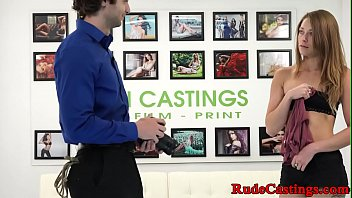 Rough casting audition for real teen babe 10 min