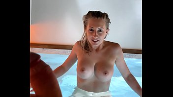 Creampie fuck at spa