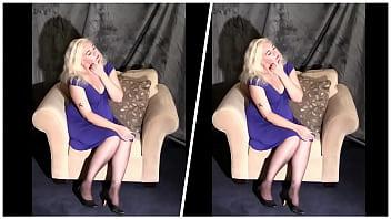 Mature BBW Tries Stripping Collage