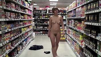 Mcdolds sued naked wife - Naked in a supermarket