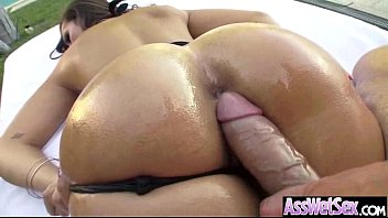 (kelsi monroe) Big Wet Cury Butt Girl Take It Hard In Ass clip-18