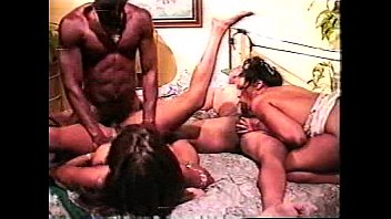 Classic Tony Eveready scene 2 - anal foursome from Cinnamon Spice