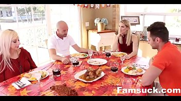 Cute GF Fucks Father In Law on Thanksgiving   FamSuck.com Vorschaubild