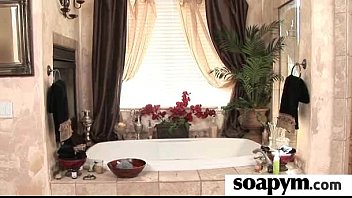 Soapy Massage End With a Big Cumshot 14