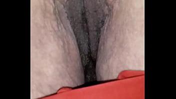 red panties down
