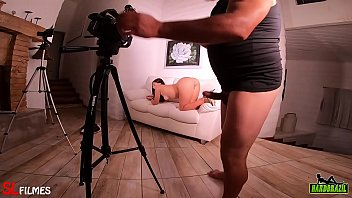 Por trás das câmeras da novinha pedindo no pelo - Pamela Pantera