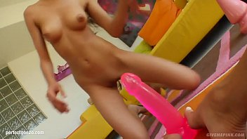 Solo masturbation with Alexis Love gonzo style on Give Me Pink