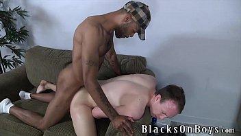 Blacks on gays Jayden jones assrides a big black cock