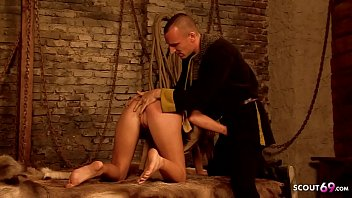 Group Game of Thrones Anal Sex Porn Parody with Hot Teen