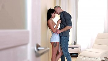 Kris milf pics X-angels.com - kris the foxx - stud paints cutie with sperm