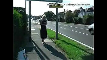 Anne Pregnant Public 2