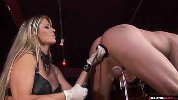 Video engine femdom Femdom whips and controls until anal creampie