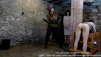 Military punishment: Prisoner 369963 and 888111. (shot in 4K)