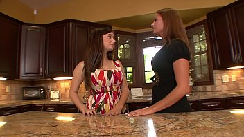 Milfs undressing girls Sexy lady lover taylor vixen and elexis monroe undress and suck each others pussies on the kitchen counter