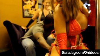 BBC Threesome Fucking With Sex Queen Sara Jay & Ava Devine! Vorschaubild
